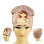 """Детская шапка для девочек NCG 062 """"Anime"""""""
