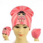 """Детская шапка для девочек NCG 063 """"LOL"""""""
