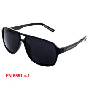 """поляризационные солнцезащитные мужские очки """"PORSCHE DESIGN"""" PN 5551 C1"""