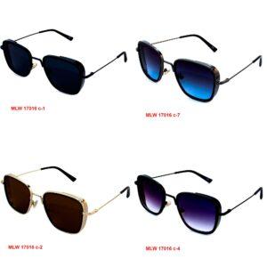 женские очки в металле MLW-17016