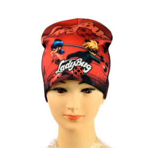 Трикотажная шапка для девочек ''Lady Bug'' AHT 074