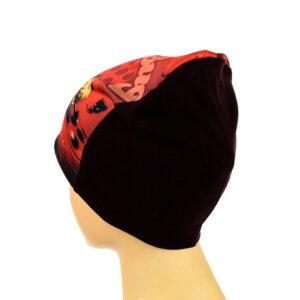 Трикотажная шапка для девочек ''Lady Bug'' AHT 074_1