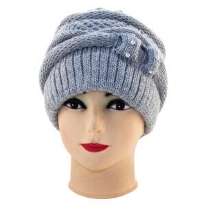 Женская вязанная шапка AL-WT 20-301