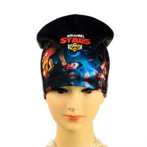 "Трикотажная шапка для мальчиков ""Brawl Stars"" BPT  027"