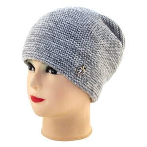 Женская шапка с люрексом S-WT 20F-01